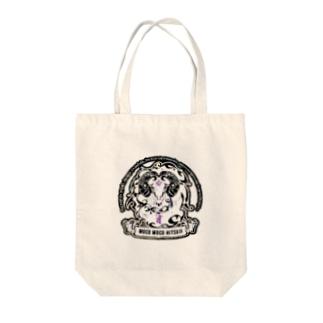 mocomocohitsuji Tote bags