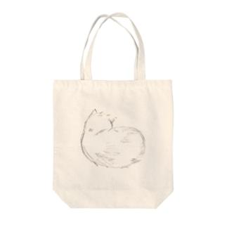 だんご猫 Tote bags