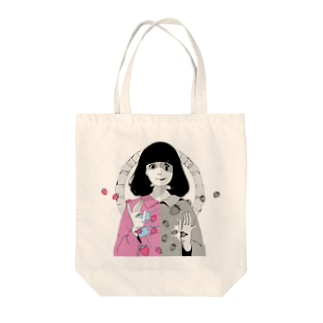 苺の惡意 Tote bags
