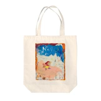 ムラナギ/ナヴィ Tote bags