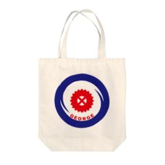 パ紋No.3338 GEORGE Tote bags