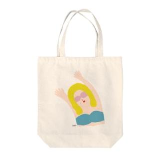 エイミー. 碧 Tote bags