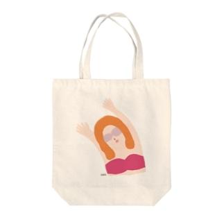エイミー.梅 Tote bags