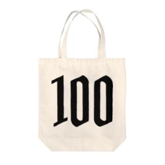 100 Tote bags