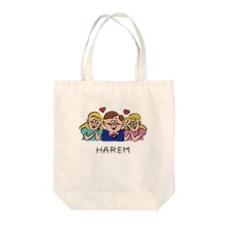 HAREM Tote bags