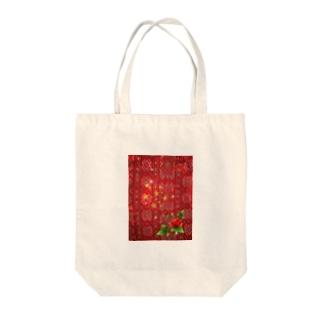 「EthnicRose」 Tote bags