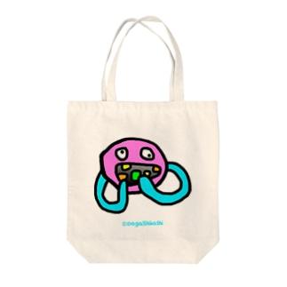 めらんぷ【大喰い】 Tote bags
