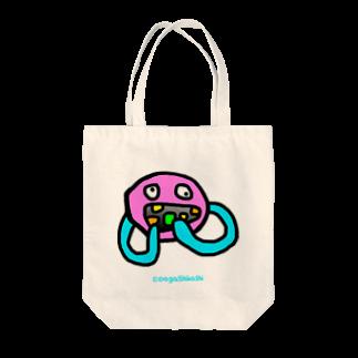 駄菓子菓子のめらんぷ【大喰い】 Tote bags