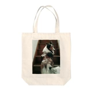 シェルティの空 Tote bags