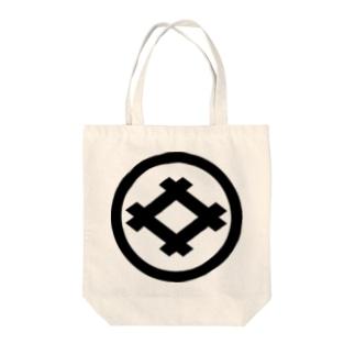 丸に井桁 Tote bags