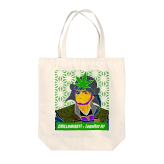 chilluminati - 隻眼 Tote bags