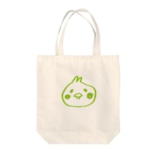 うららかぴよ美ちゃん Tote bags