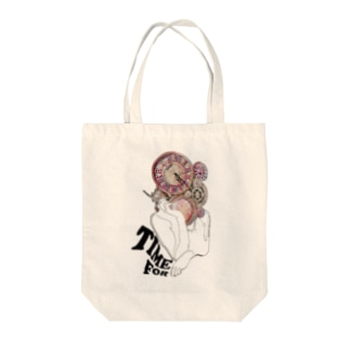 #420 - TIME FOR Tote bags