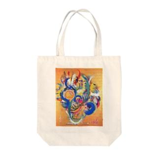 長正宝珠(ちょうせいほうじゅ) Tote bags