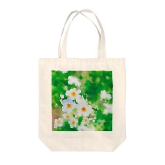 水色小花 Tote bags
