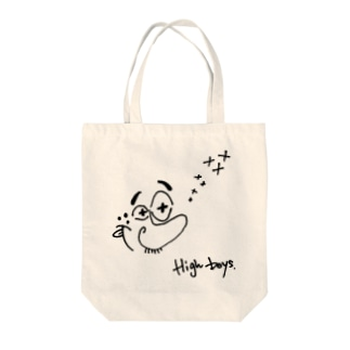 HIGH BOY Tote bags