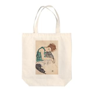 エゴンシーレ1917 Tote bags