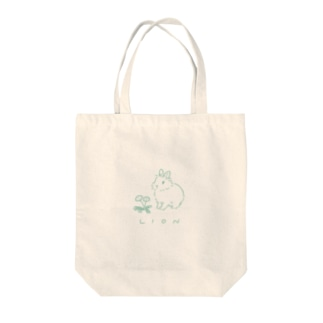 LION Tote bags