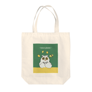 aaのlemon glasses Tote bags