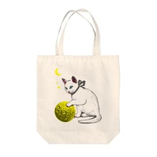 ボール遊び Tote bags