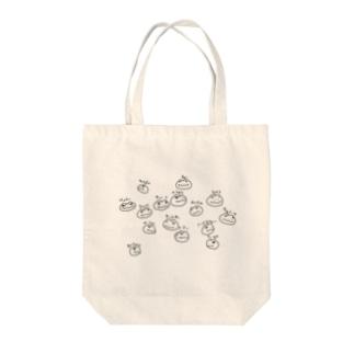 トゲオアガマ似顔絵トートバッグ Tote bags