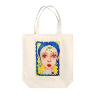 チェリーガール🍒 Tote bags