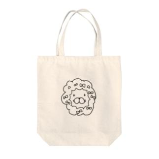 オカマライオン Tote bags