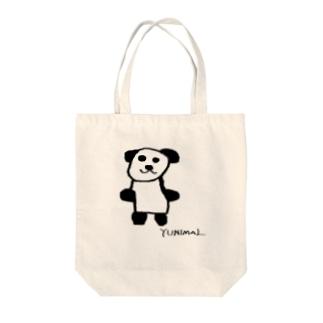 ジャイアントパンダ Tote bags