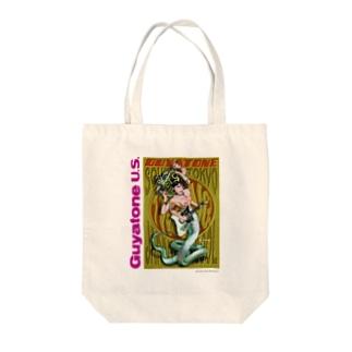 スネークウーマン Tote bags