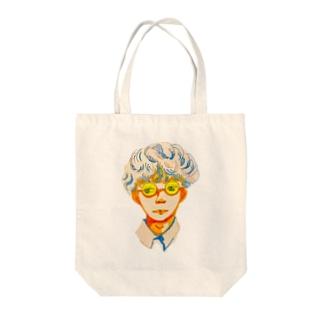 少年 Tote bags