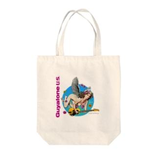 エンジェル Tote bags