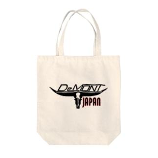 Japan DeMont Logo Tote bags