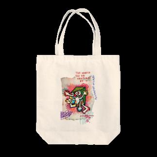 Sakの創造的破壊 Tote bags