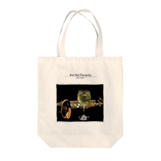 Just The Two of Us Tote bags