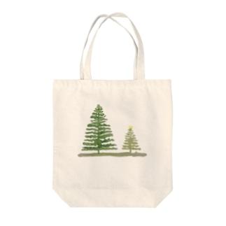 樹 - 水彩 Tote bags