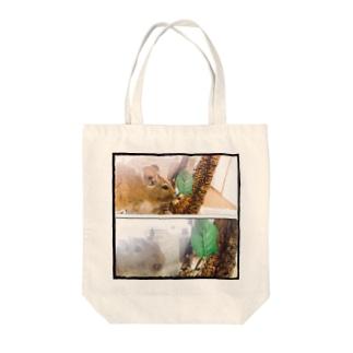 愛ペット☆シャロ☆ Tote bags