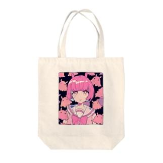 メンダコちゃん Tote bags