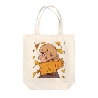 銀杏 Tote bags