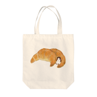 nins・にんずの塩パンバッグ Tote bags