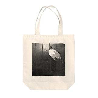 バリバリん Tote bags