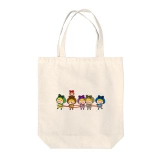 Petite Polka Tote bags