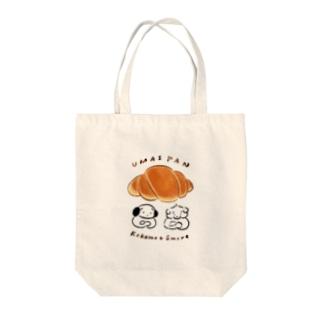 うまいパン Tote bags