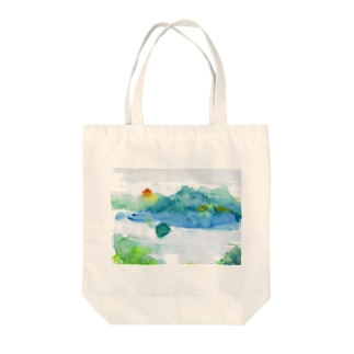 心の摩周湖 Tote bags