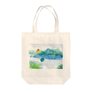STUDIO Switch Onの心の摩周湖 Tote bags