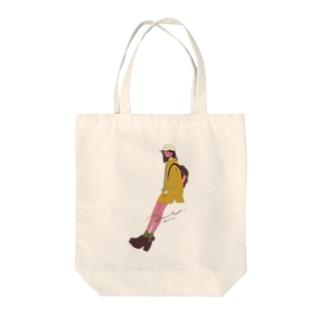 まちあわせ(姉) Tote bags