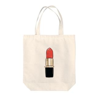 Lipstick Tote bags