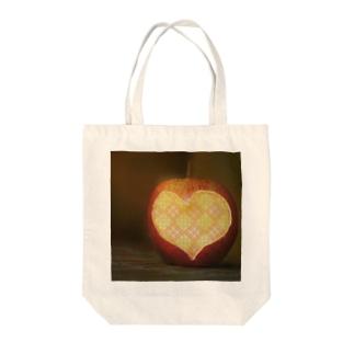 アップルこぎん Tote bags
