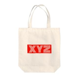 XYZ Tote bags