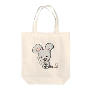 充電式チュー太 Tote bags