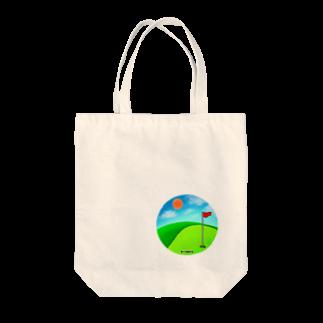 Lily bird(о´∀`о)の第23回親交会 晴れのゴルフ場グッズ Tote bags